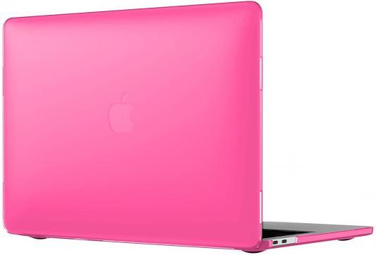 Чехол-накладка для ноутбука MacBook Pro 13 Speck SmartShell пластик розовый 90206-6011 чехол для ноутбука macbook pro 15 speck smartshell пластик синий 90208 b189