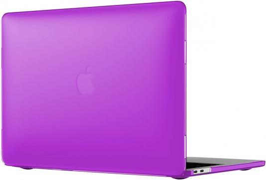 Фото Чехол для ноутбука MacBook Pro 13 Speck SmartShell пластик фиолетовый 90206-6010 чехол накладка для ноутбука macbook pro 13 speck smartshell пластик розовый 90206 6011