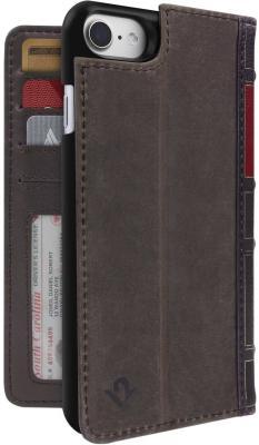 Чехол-книжка Twelve South BookBook в твердом переплете для iPhone 7 коричневый 12-1658 чехол twelve south bookbook для iphone 5 в спб