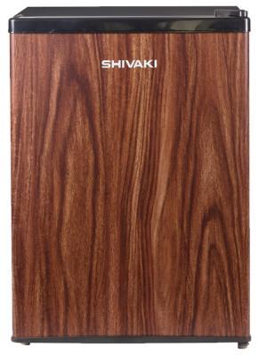 Холодильник SHIVAKI SDR-062T коричневый shivaki smg3553