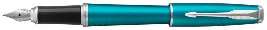 Перьевая ручка Parker Urban Core F309 Vibrant Blue CT синий 1931594 перо F