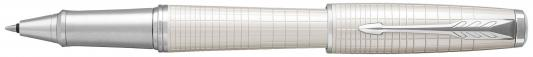 Ручка-роллер Parker Urban Premium T312 Pearl Metal CT черный F 1931610 ручка роллер parker im metal t220 s0856410 gun metal ct f черные чернила подар кор