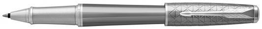 Ручка-роллер Parker Urban Premium T313 Silvered Powder CT черный F 1931586