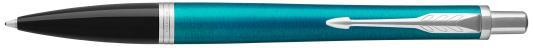 Шариковая ручка автоматическая Parker Urban Core K309 Vibrant Blue CT синий M 1931577 шариковая ручка автоматическая parker urban core k309 muted black gt синий m 1931576