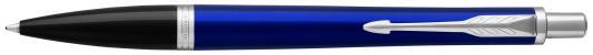 Шариковая ручка автоматическая Parker Urban Core K309 Nightsky Blue CT синий M 1931581 шариковая ручка автоматическая parker urban core k309 muted black gt синий m 1931576