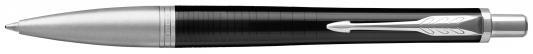 Шариковая ручка автоматическая Parker Urban Premium K312 Ebony Metal CT синий M 1931615 перьевая ручка parker urban premium f310 dark blue ct синий f 1931563