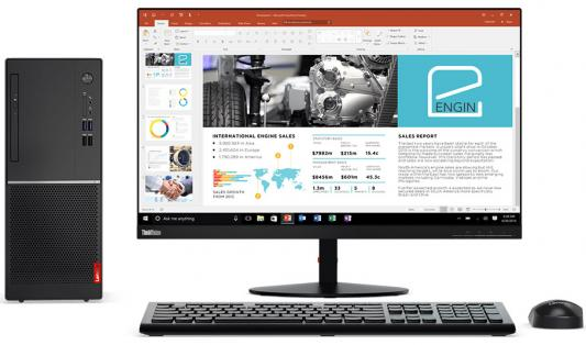 Компьютер Lenovo V320-15IAP Intel Celeron-J3355 4Gb 500Gb Intel HD Graphics 500 Без ОС черный 10N50006RU