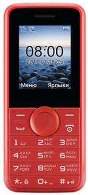 Мобильный телефон Philips E106 красный (867000143209) мобильный телефон jinga simple f200n черно красный
