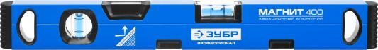 Уровень Зубр Профессионал Магнит с перископом фрезерован поверхность 2 цельные противоудар ампулы магнитный 400мм 34589-040