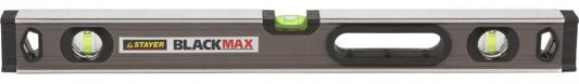 Подробнее о Уровень Stayer Expert BlackMax коробчатый усиленный с ручками утолщенный особопроч профиль 0.5мм/м 3 ампулы 150см 3475-150 коробчатый усиленный уровень 150 см stayer expert blackmax 3475 150