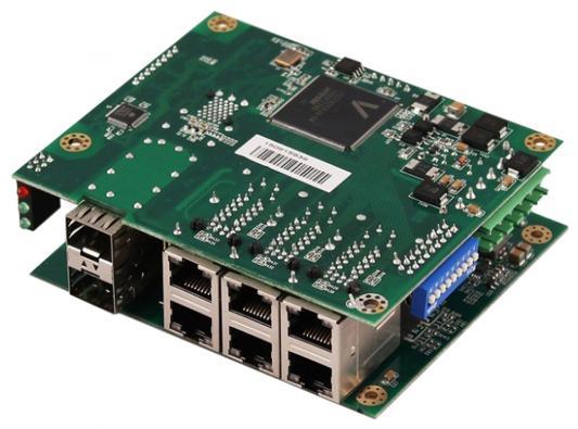 Коммутатор Osnovo SW-60602/ILC-P 6 портов 10/100Mbps