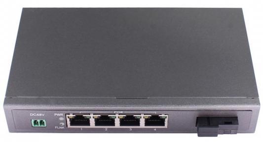Коммутатор Osnovo SW-40401S5b/A 4 порта 10/100Mbps