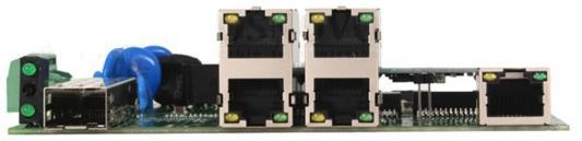 Коммутатор Osnovo SW-40501/IC-P 4 порта 10/100Mbps 2xSFP