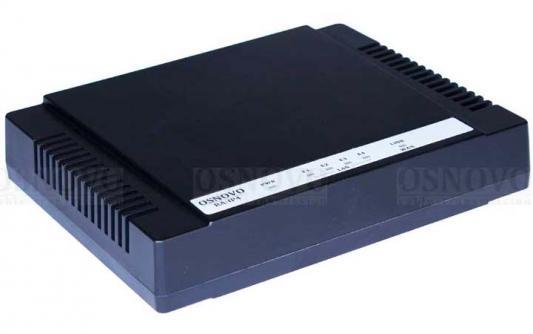 Удлинитель Ethernet Osnovo RA-IP4 на 4 порта до 1500м