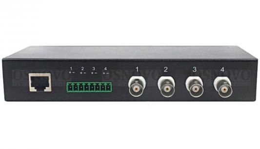 Пассивный 4-канальный приемопередатчик Osnovo TP-H4 от 123.ru