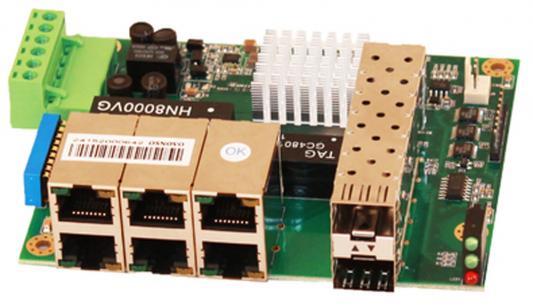Коммутатор Osnovo SW-50602/I-P неуправляемый 6 портов 10/100Mbps 2xSFP женские чулки sw 6 sw4