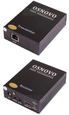 Комплект для передачи HDMI и ИК-сигналов Osnovo TLN-Hi/4+RLN-Hi/4