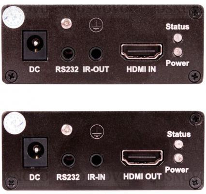 Комплект для передачи HDMI и ИК-сигналов Osnovo TLN-Hi/4+RLN-Hi/4 от 123.ru