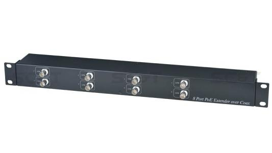 Приемник Ethernet и питания PoE SC&T IP08P 8-канальный от 123.ru