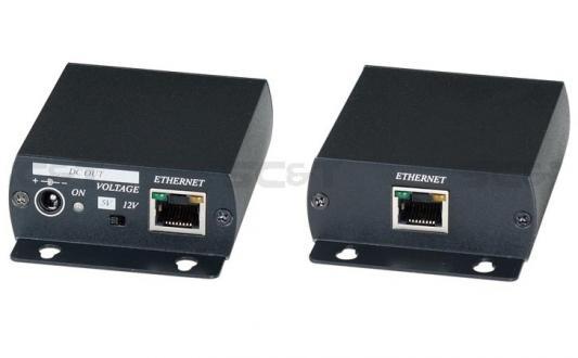 Комплект SC&T IP02EP для передачи Ethernet и питания по коаксиальному кабелю до 500м от 123.ru