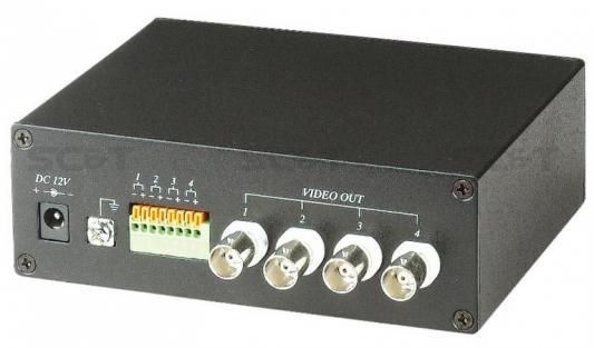 Фото - Приемник SC&T TTA414VR 2 активный 4-х канальный приемник видео сигнала по витой паре видео