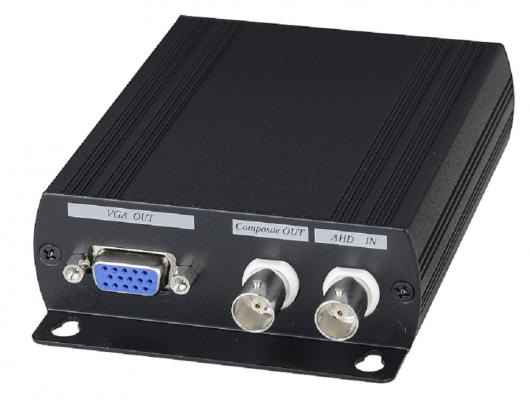 Преобразователь-разветвитель SC&T AD001AHD AHD в HDMI/VGA/CVBS ahd камера axycam ad 31v12i ahd