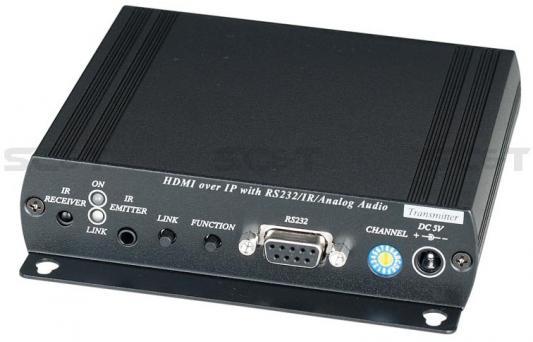 Передатчик SC&T HE05BT HDMI + Analog Audio до 150м laochen oldchen k1 kt88 tube amplifier hifi exquis aiqin ock1 handmade scaffolding audio amp