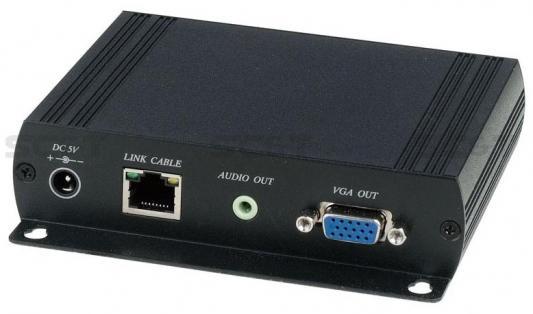 Дополнительный приемник SC&T VKM03R для комплекта VKM03 передачи VGA + 4USB + RS232 + Audio + IR