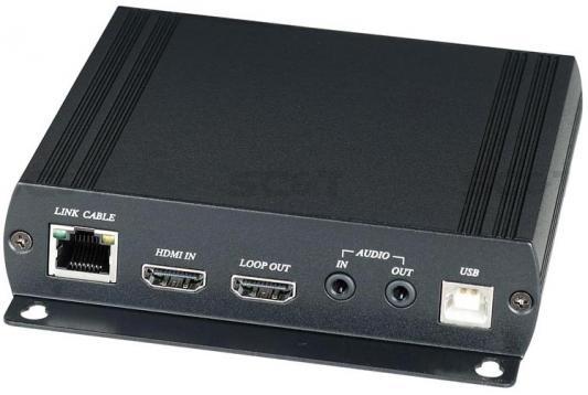 Дополнительный передатчик SC&T HKM01T для комплекта HKM01 HDMI Audio RS232 и сигнал ИК управления по Ethernet до 150м