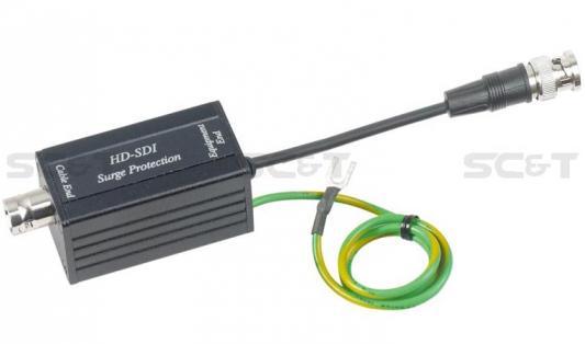 Устройство грозозащиты SC&T SP007L для цепей передачи видеосигналов формата SDI hdv s007 sdi to av scaler converter w cvbs sdi in sdi out rca black