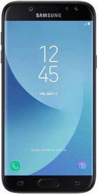 Смартфон Samsung Galaxy J5 2017 черный 5.2 16 Гб NFC LTE Wi-Fi GPS 3G SM-J530FZKNSER смартфон samsung galaxy s7 edge синий 5 5 32 гб nfc lte wi fi gps 3g sm g935fzbuser