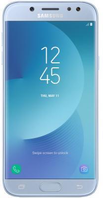 Смартфон Samsung Galaxy J5 2017 голубой 5.2 16 Гб LTE NFC Wi-Fi GPS 3G SM-J530FZSNSER