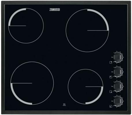 Варочная панель электрическая Zanussi ZEV56140NB черный