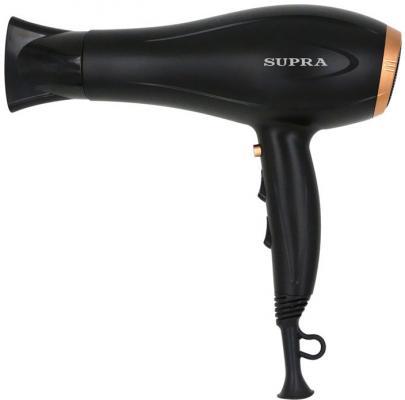 Фен Supra PHS-2008 чёрный золотистый