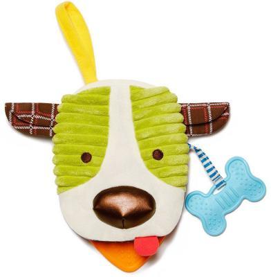 """Мягкая игрушка собака Skip Hop """"Книжка-собака"""" текстиль разноцветный 16.5 см"""