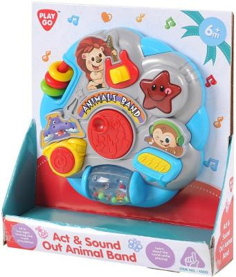 Развивающая игрушка PLAYGO Оркестр с животными 1000 от 123.ru