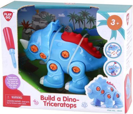 """Развивающая игрушка PLAYGO """"Построй динозавра"""" от 123.ru"""