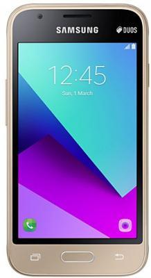 Смартфон Samsung Galaxy J1 Mini Prime золотистый 4 8 Гб LTE Wi-Fi GPS 3G SM-J106FZDDSER