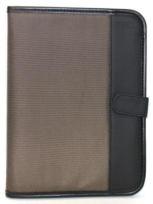 "Чехол KREZ для планшетов 10"" черный коричневый L10-703NM"