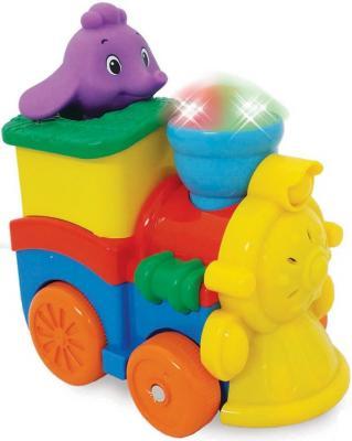 Развивающая игрушка KIDDIELAND Паровозик со слоненком 053462