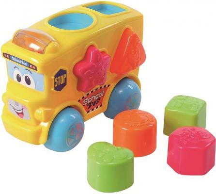 Развивающая игрушка PLAYGO Автобус-сортер 2106 playgo развивающая игрушка самолет сортер