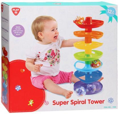 Развивающая игрушка PLAYGO Башня Супер-спираль 1758 сортеры playgo развивающая игрушка башня испытаний 5 в 1