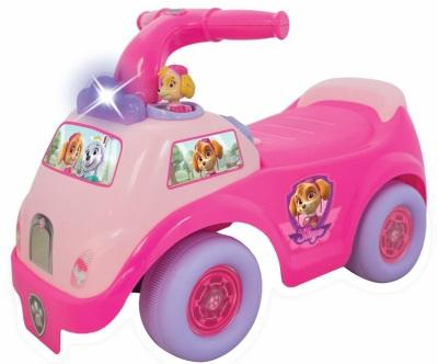 Каталка-пушкар Kiddieland Гонщик-спасатель Скай розовый от 1 года пластик
