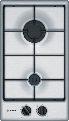 Варочная панель газовая Bosch PGB3B5B80 серебристый цена и фото