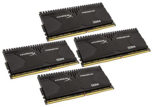 Оперативная память 32Gb (4x8Gb) PC4-21300 2666MHz DDR4 DIMM CL13 Kingston HX426C13PB3K4/32