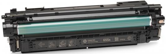 Картридж HP 655A CF451A для HP LaserJet Enterprise M652 M653 M681 M682 голубой