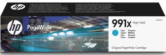 Картридж HP 991X M0J90AE для HP PageWide Pro 772dn 777z 750dw голубой аккумулятор для ноутбука hp compaq hstnn lb12 hstnn ib12 hstnn c02c hstnn ub12 hstnn ib27 nc4200 nc4400 tc4200 6cell tc4400 hstnn ib12