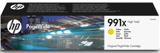 Картридж HP 991X M0J98AE для HP PageWide Pro 772dn 777z 750dw желтый картридж hp pigment ink cartridge 70 black z2100 3100 3200 c9449a