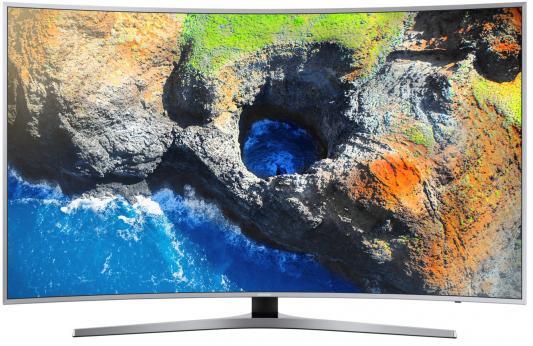 Телевизор Samsung UE65MU6500UX серебристый телевизор samsung ue28j4100ak