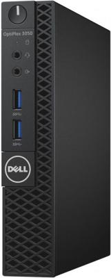 Dell OptiPlex 3050 Micro, i3-6100T (3.2GHz,3M,DC), 4GB (1x4GB) DDR4 2400MHz, 500GB SATA, VGA, кеув, mice, W7 Pro (Win10 Pro Licence), 1Y Basic NBD